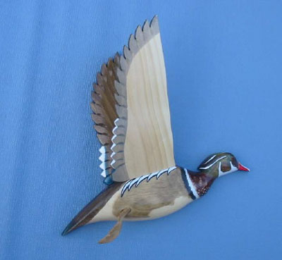 Wall Mounts Wood Ducks Both Profiles Decoys